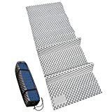 REDCAMP Closed Cell Foam Sleeping Pad for Camping, 22' Wide Lightweight Folding Camping Pad for Hiking Backpacking, 72'x22'x0.75', Royal Blue 1 Pack