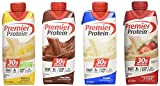 Premier Protein Variety Pack - 4 Flavors 12 Count, 11 Ounce Each, Contains Chocolate, Vanilla, Strawberry and Banana