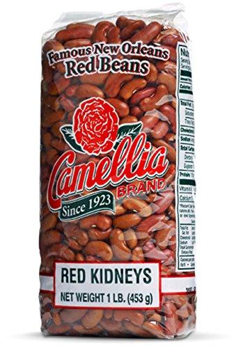 Camellia Brand - Red Kidney Beans, Dry Bean (4 Pound Bag)