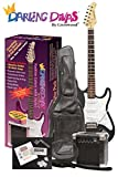 Darling Divas Electric Guitar Package | includes amp and case | Black VooDoo