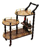 Product review for Uniquewise(TM) 3-Tier Serving Tea Cart, Gold Marble Finish