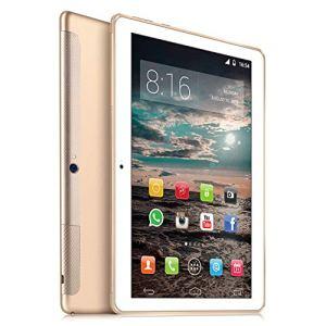 4G LTE Tablet 10 Pulgadas HD – TOSICDO Android 9.0 Certificado por Google GMS,Quad Core,64GM ROM,4GB RAM,Doble Altavoz Estéreo,WiFi/Bluetooth/GPS/OTG – Oro