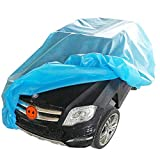 ONFUTAT Large Children's Ride-On Toy Car Cover, Outdoor Wrapper Resistant Protection for Electric Battery Powered Children Wheels Toy Vehicles(Blue)