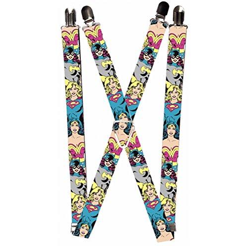 Buckle-Down Suspender – Justice League Girls