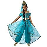 Pettigirl Girls Princess Dress Up Costume with Crown Veil