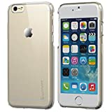 iPhone 6 Plus Case, LUVVITT [Cristal] Hard Shell Anti-Scratch Transparent Clear Back Case for iPhone 6 Plus with 5.5 inch Screen - Crystal Clear