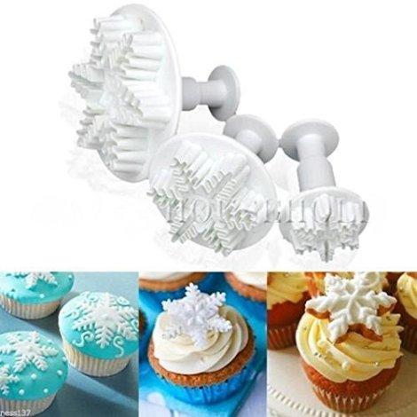 Set di 3 tagliapasta Fiocco di Neve Cake design