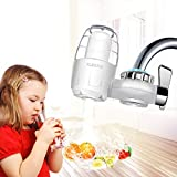 Faucet Water Filter 7 Stage Water Filtration Kitchen Faucet Mount for Hard Water