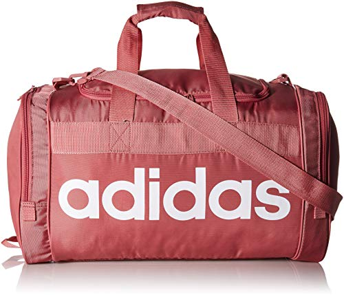 adidas Santiago Duffel Bag, Med Pink, One Size