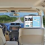 TFY Car Headrest Mount Holder for iPad Pro 12.9 inch 2016 Version, Black