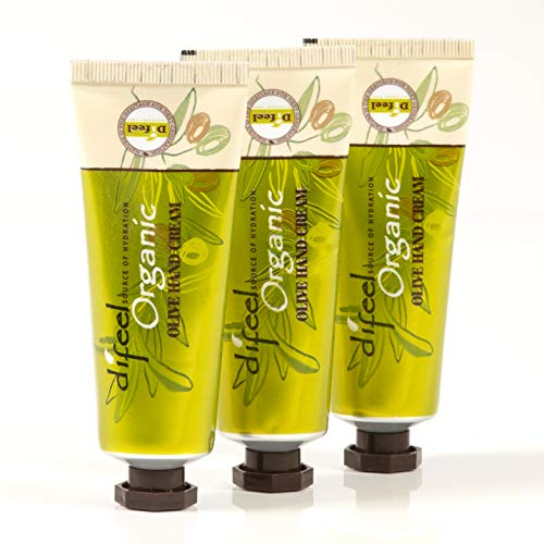 Difeel Hand Cream- Olive Oil 1.5 Ounce (3-Pack)