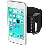 Mediabridge Armband for iPod Touch - 5th / 6th Generation ( Clear ) - Model AB1 (Part# AB1-IPT5-CLEAR )