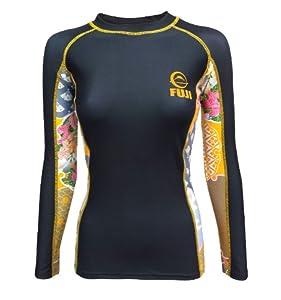 Best BJJ Compression Shirts for Women - for Fuji Women's 2507 Kimono Rash Guard