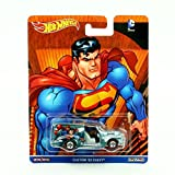 CUSTOM '52 CHEVY * SUPERMAN * Hot Wheels 2016 Pop Culture Batman / Superman Series Die-Cast Vehicle