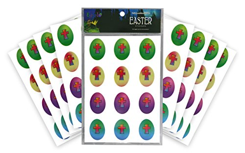 Christian Easter Egg Stickers