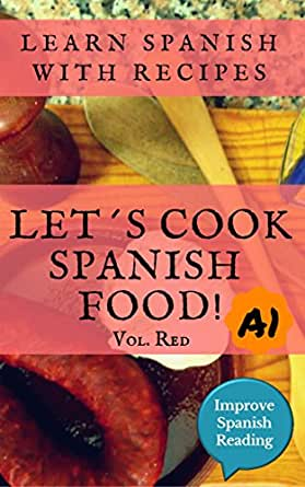 Spanish book for beginners (A1) Let's cook Spanish food
