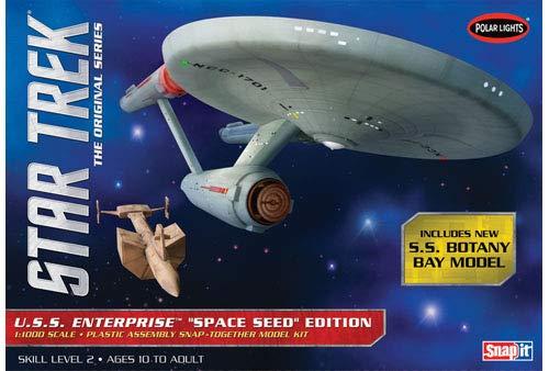 Polar-Lights-Star-Trek-TOS-USS-Enterprise-Space-Seed-Edition-11000-Snap-Model-Kit