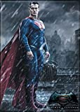 "Ata-Boy Batman v Superman Dawn of Justice Superman in The Rain 2.5"" x 3.5"" Magnet for Refrigerators and Lockers"