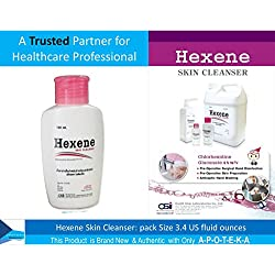 A Trusted Partner for Healthcare Professional Chlorhexidine Gluconate 4% (Hexene Skin Cleanser 3.4 Fl Oz.) Antimicrobial, Effective Defense for Preventing the Spread of MRSA and Other Staph Infections
