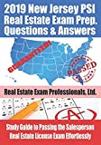 2019 New Jersey PSI Real Estate Exam Prep Questions and Answers: Study Guide to Passing the Salesperson Real Estate License Exam Effortlessly