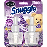 Renuzit Snuggle Scented Oil Refill for Plugin Air Fresheners, Relaxing Lavender, 0.67 Fl Oz (Pack of 2)