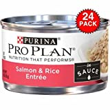 Purina Pro Plan Canned Adult Salmon and Rice Food, 3 oz.