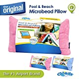 Cloudz Pool & Beach Microbead Pillow - Pink