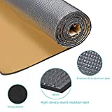 "Guteauto 236 mil 15 sqft Sound Deadening Deadener Insulation Mat Automotive Deadener Wall Soundproofing Foam Panels 55"" x 39"""