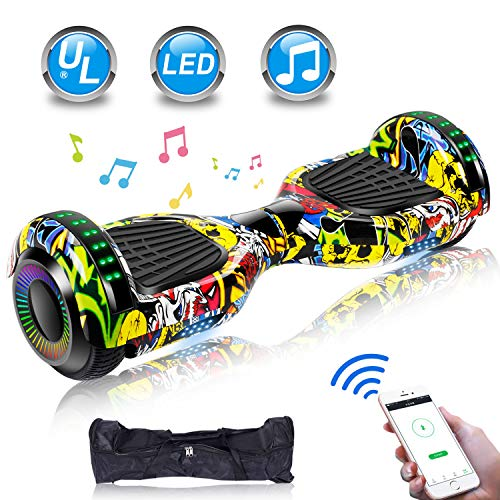 UNI-SUN 6.5' Hoverboard for Kids, Two...