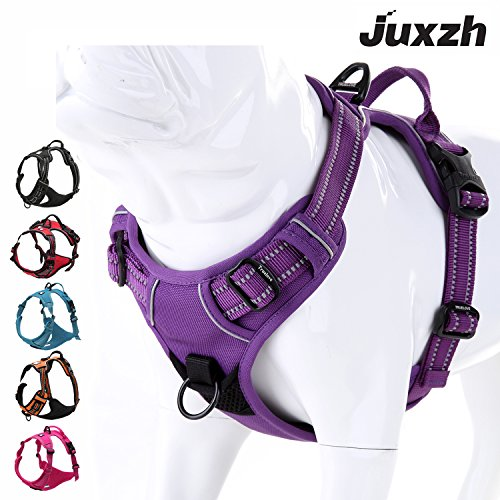 juxzh Truelove Soft Front Dog Harness .Best Reflective No Pull Harness with...