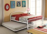 Acme Furniture 30460T-WH Cailyn Bed, Twin, White
