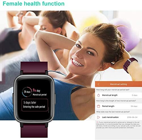 Willful Smart Watch for Android Phones Compatible iPhone Samsung IP68 Swimming Waterproof Smartwatch Sports Watch Fitness Tracker Heart Rate Monitor Digital Watch Smart Watches for Men Women Purple 8
