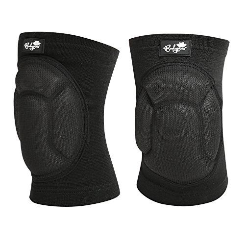 Bodyprox Protective Knee Pads, Thick Sponge Anti-Slip, Collision Avoidance Knee Sleeve(Small/Medium)