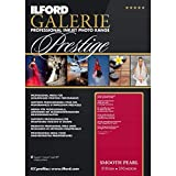 ILFORD GALERIE Prestige Smooth Pearl - 4 x 6 Inches 100 Sheets (2001743)  High-Density Heavyweight Professional Inkjet Photo Range Paper with HDR Instant Dry Nanoporous Surface