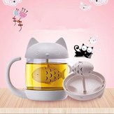 Carlie-Cute-Cat-Glass-Cup-Tea-Mug-With-Fish-Tea-Infuser-Strainer-Filter