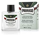 Proraso After Shave Balm, Refreshing and Toning, 3.4 Fl Oz