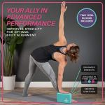 URBNFit-Yoga-Block-2PC-Blocks-Set-with-Stretch-Strap-Moisture-Resistant-High-Density-EVA-Foam-Block-Improve-Balance-and-Flexibility-Perfect-for-Home-or-Gym-Free-PDF-Workout-Guide