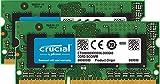 Crucial 16GB Kit (8GBx2) DDR3/DDR3L 1600 MT/s (PC3-12800) SODIMM 204-Pin Memory for Mac - CT2K8G3S160BM