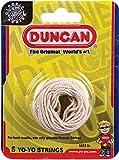 Duncan Yo Yo String, White (5-Pack)