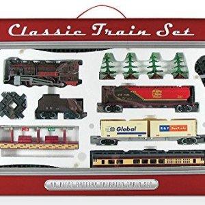 WowToyz Classic Train Classic Train Set – 40 Piece with Steam Engine 51pzeLvMY1L