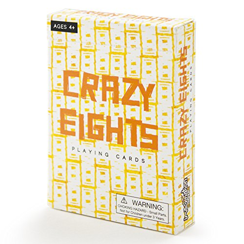 Imagination Generation Crazy Eights Illustrated Card Game