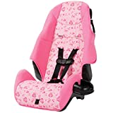 Cosco Highback 2-in-1 Booster Car Seat with 5-Point Harness and Belt-Positioning (Amber)