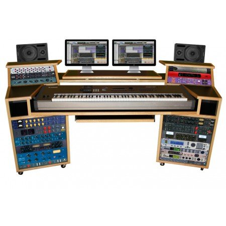 AZ- Vista Studio Workstation Desk