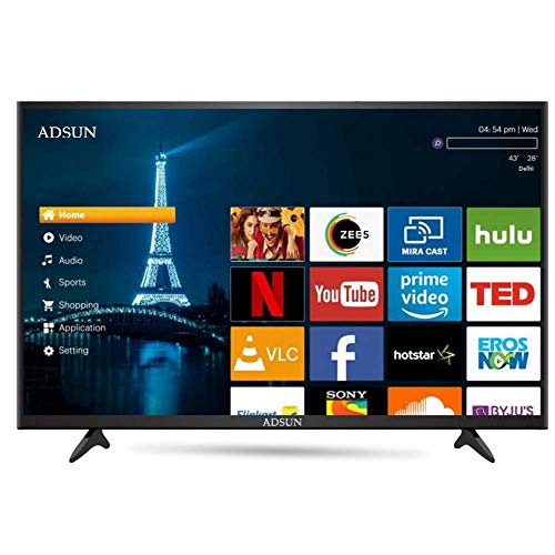 ADSUN 140 cm (55 Inches) 4K Ultra HD Smart LED TV 55AESL1 (Black) (2019 Model) 13