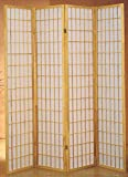 Product review for Milton Greens Stars 7033NA 4-Panel Dean Room Divider, Natural