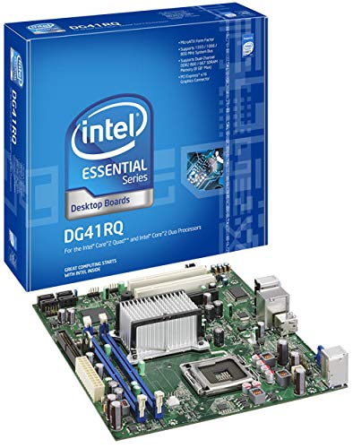 Intel DG41RQ Intel G41 Socket 775 Micro-ATX Motherboard w/Video, Audio & Gigabit LAN