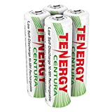 Tenergy AA Rechargeable NIMH Battery 2000mAh Pre-Charged Household Battery Low Self Discharge High Performance AA Battery Pack for Remote Controller/Toys/Flashlight/Mice (4 PCS)