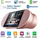 KOCASO SP-TS7 7 INCH Android 6.0 Quad-Core A7 HD Tablet PC W/Heavy Bass Bluetooth Speakers- 1GB RAM, 8GB Memory W/Expandable Memory, 1024x600, Front Camera, WiFi/Micro SD Card Slot & More- Rosegold