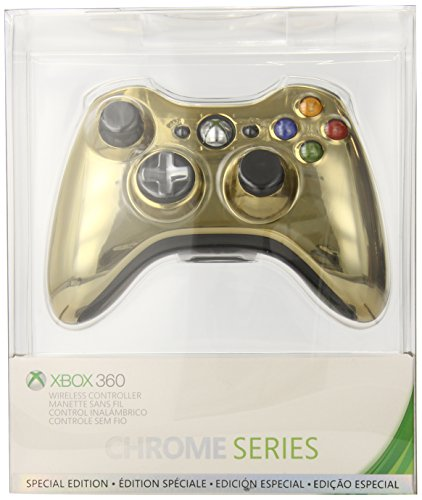 Xbox 360 Wireless Controller - Gold Chrome