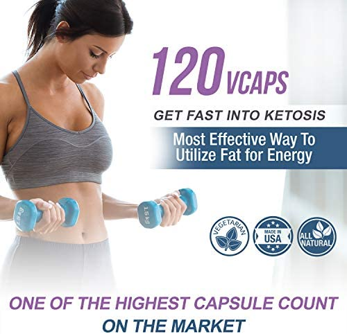 COCOFLY Ultra Fast Keto Boost - 1200 mg KetoGirl Burn Pills for Women, Utilize Fat for Energy, Super Rapid Ketosis, Enhanced Pure BHB Salts, 6X Advanced Weight Loss Supplement, Slim Exogenous Ketones 5